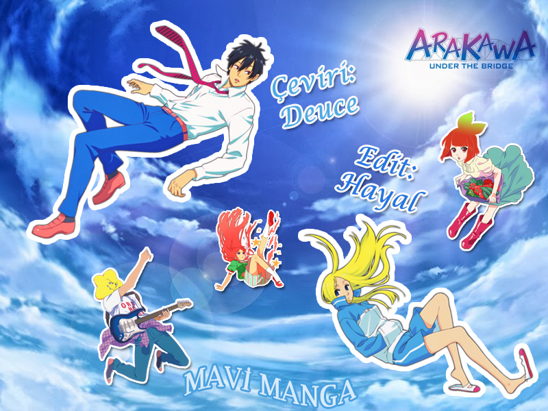 Arakawa Under The Bridge 5
