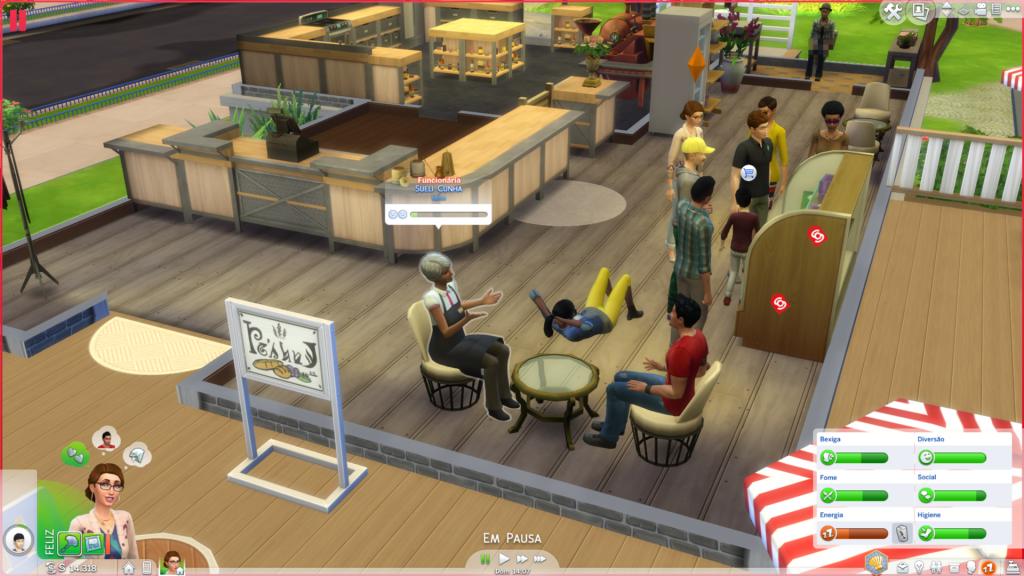 Comércio The Sims 4