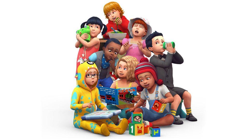 Crianças The Sims 4