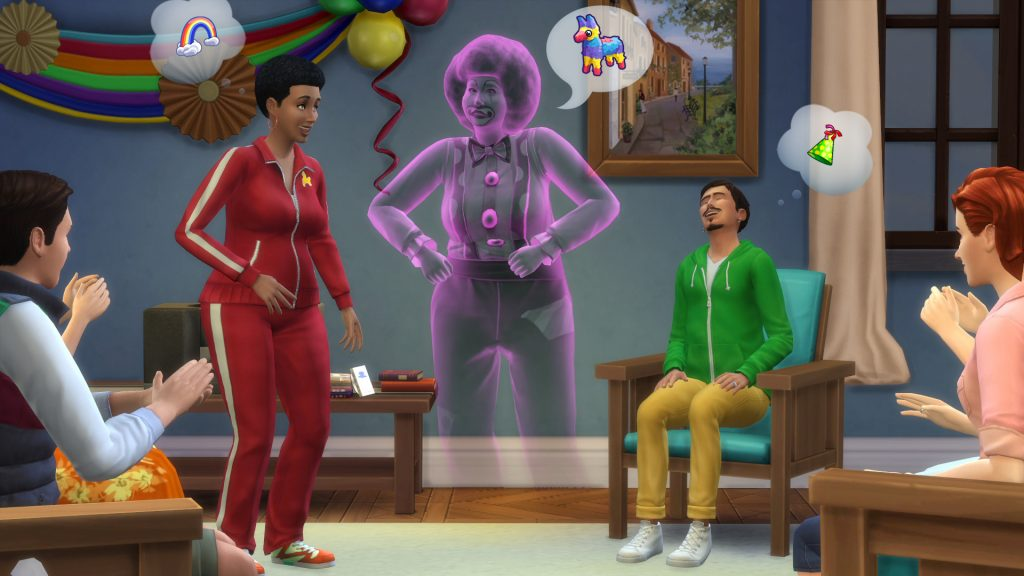 Fantasmas The Sims 4