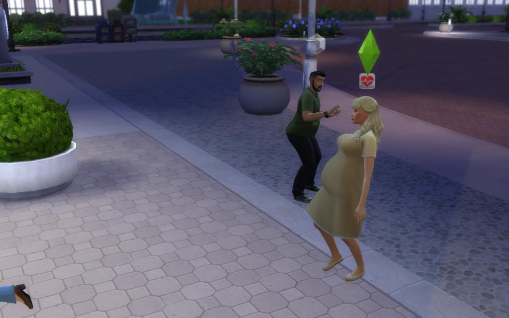 Grávida The Sims 4
