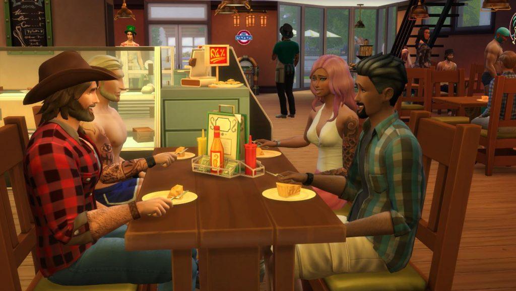 Restaurante The Sims 4
