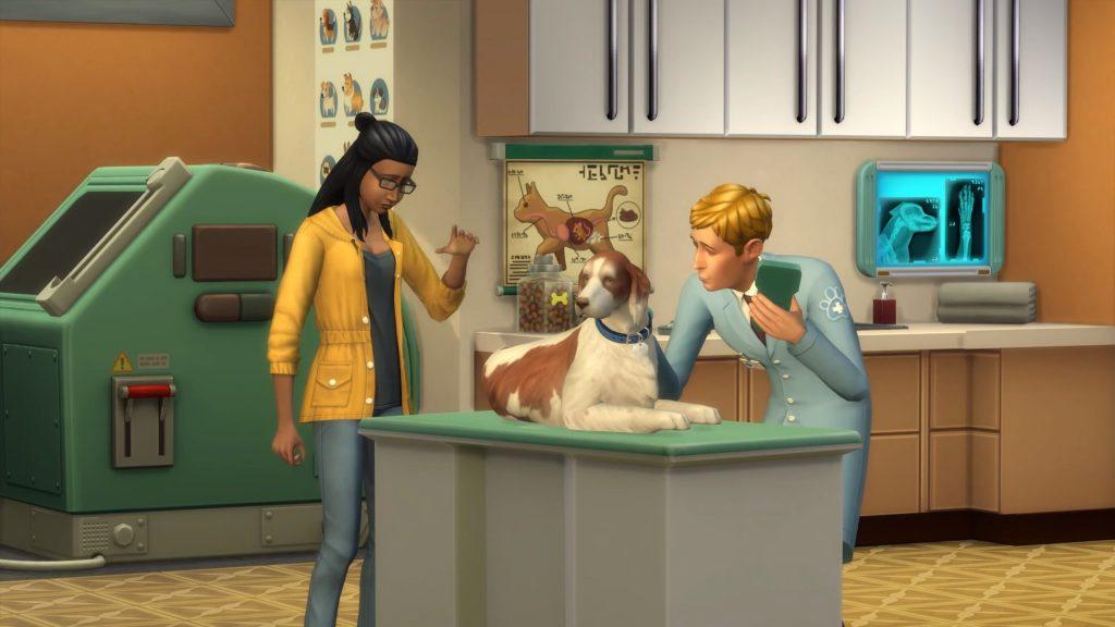 Veterinário The Sims 4