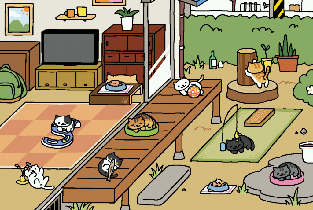 Neko Atsume Coleção de Gatos