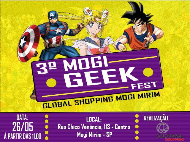 3º MOGI GEEK FEST