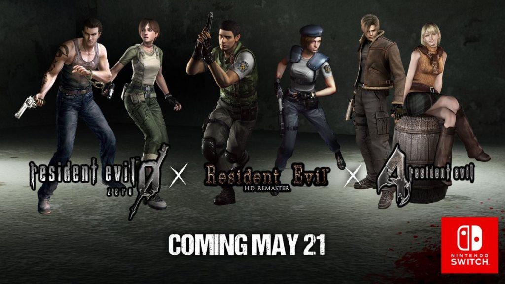 Resident Evil, Resident Evil 4 e Resident Evil Zero