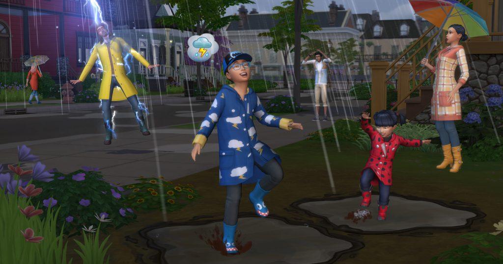 The Sims 4 Estações