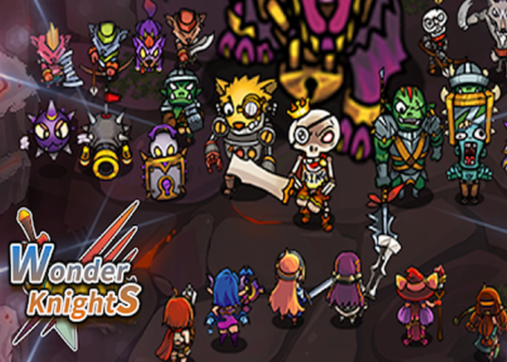Wonder Knights VIP : Retro Shooter RPG