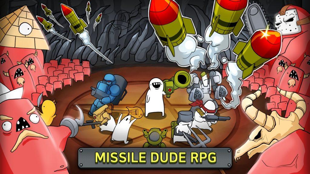 Missile Dude RPG: Tap Tap Missile