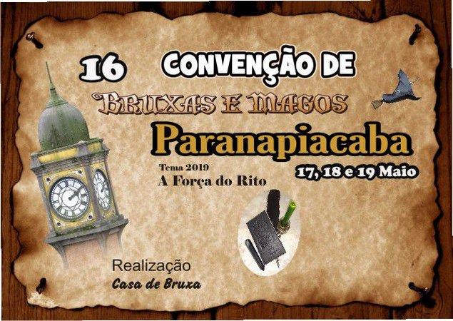 16 Convenção de Bruxas e Magos em Paranapiacaba - Dia 17 de maio de 2019