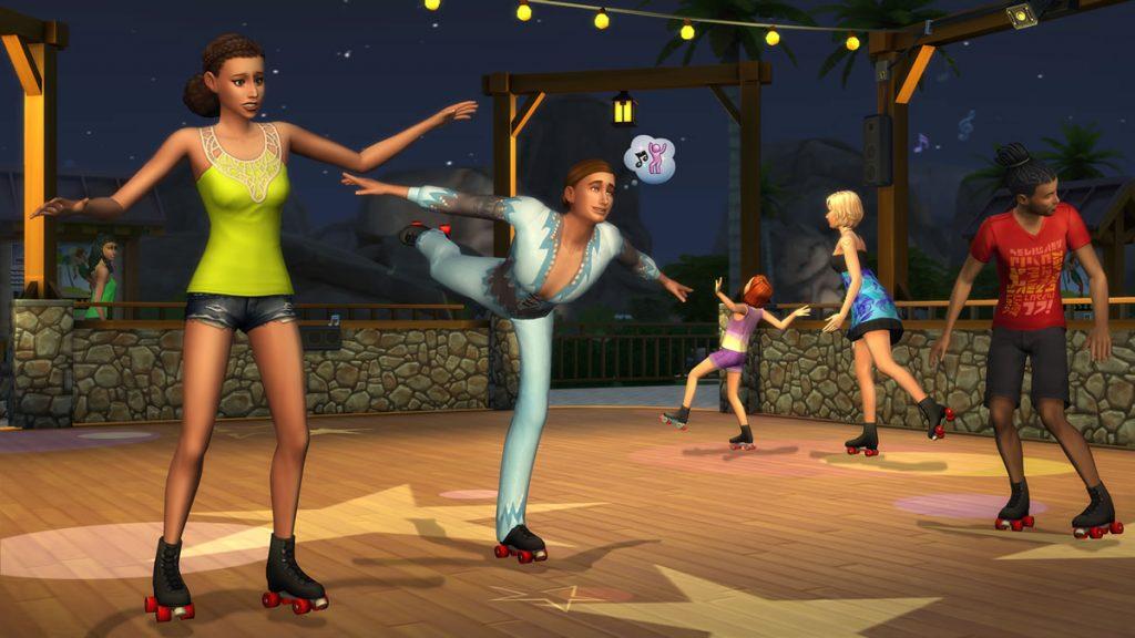 The Sims 4 Patinação
