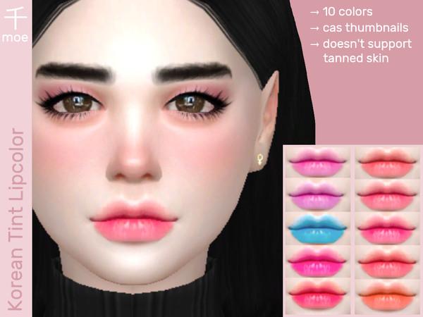 Batom Lip Tint The Sims 4