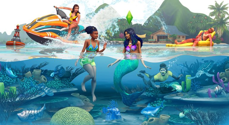 The Sims 4 Vida na Ilha