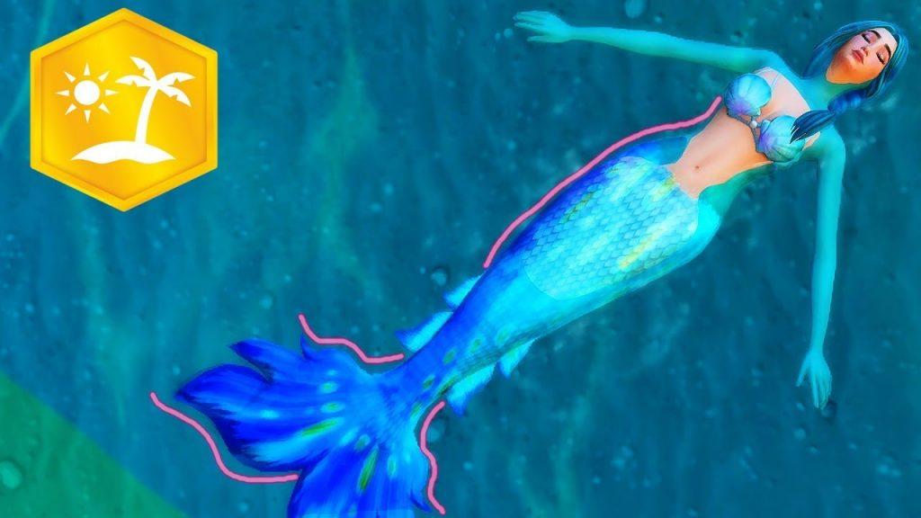 Sereia The Sims 4 Ilhas Tropicais
