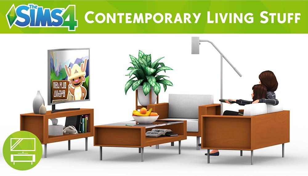 Expansões The Sims 4: Vida Contemporânea