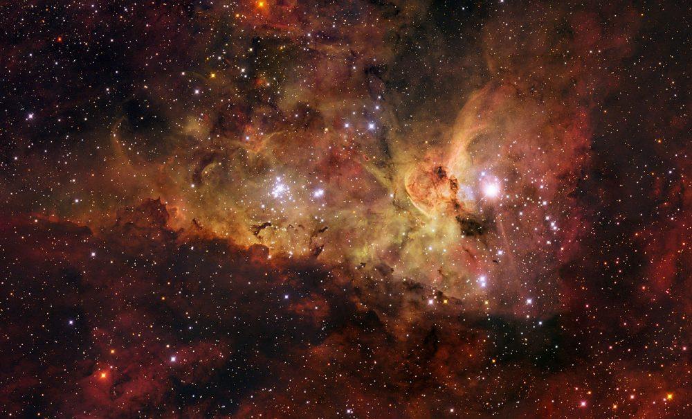 Hubble captura uma explosão estrelas