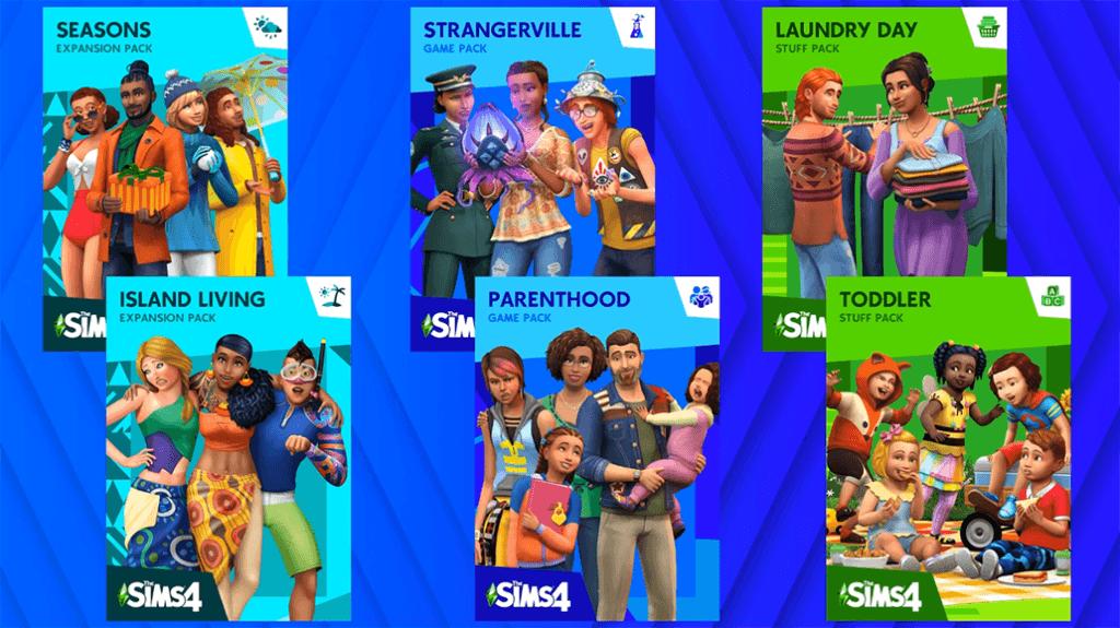 The Sims 4 Modo História