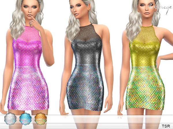 Vestidos de Sereia The Sims 4