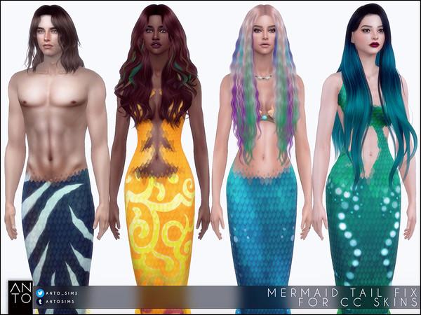 Cauda de sereia The Sims 4