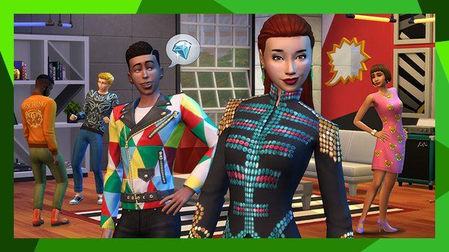 The Sims 4 Moschino Autônomo Fotográfo da moda