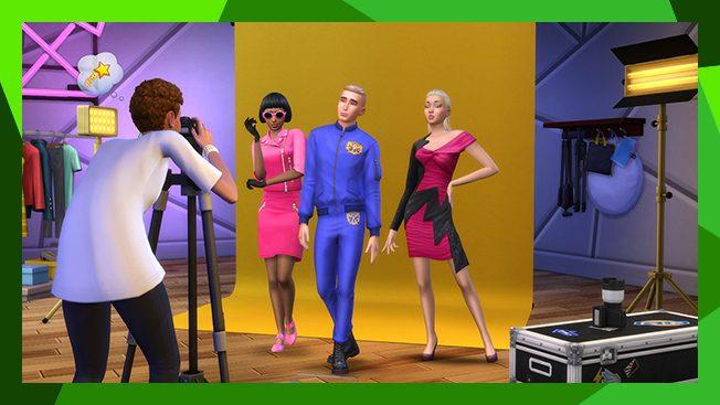 The Sims 4 Moschino carreiras