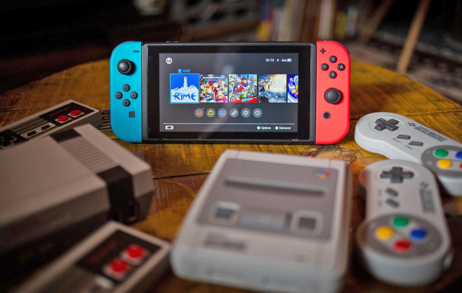 Nintendo terá jogos SNES