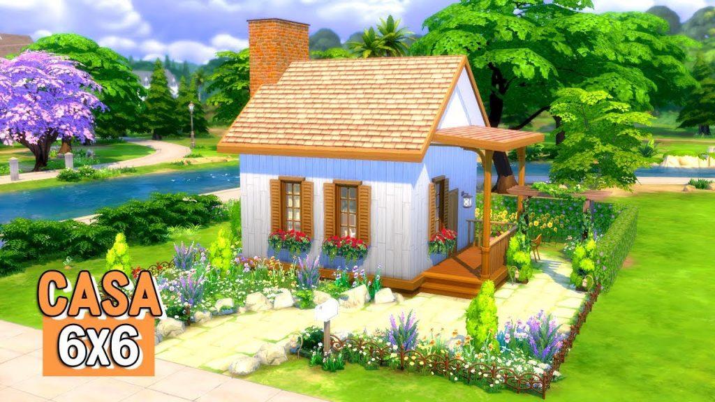 Desafios para fazer no The Sims 4 Desafio da Casa Minuscula