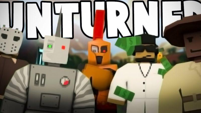jogos grátis no Steam: Unturned