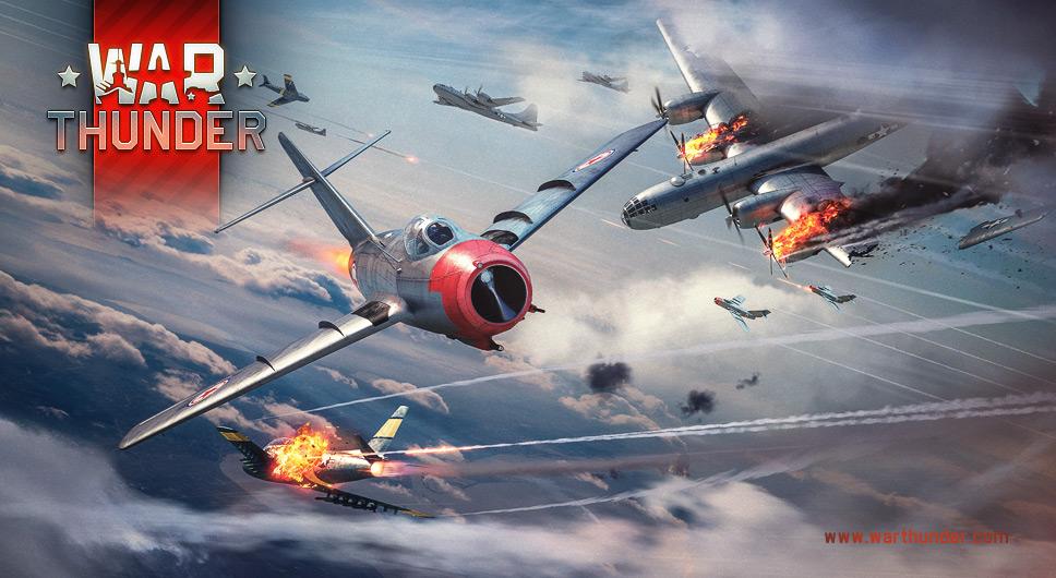 jogos grátis no Steam: War Thunder