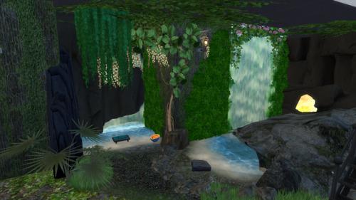 The Sims 4 Casas caverna