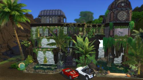 The Sims 4 Casas: Casa no Vulcão