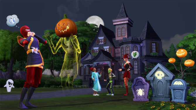 The Sims 4 Halloween