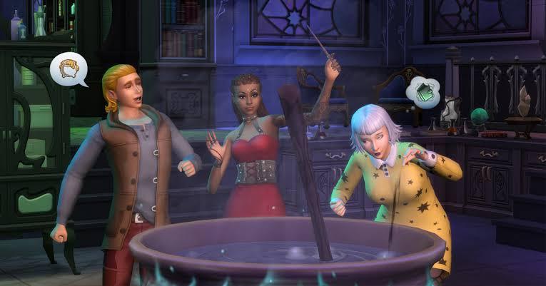 Novos desafios de The Sims 4: Desafio das Bruxas
