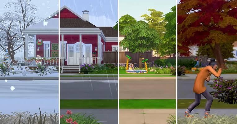 Novos desafios de The Sims 4: Desafio das Casas das Estações