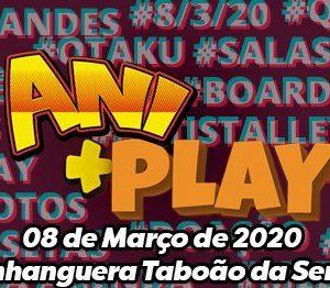1° AniPlay Fest Taboão – Festa Cosplay