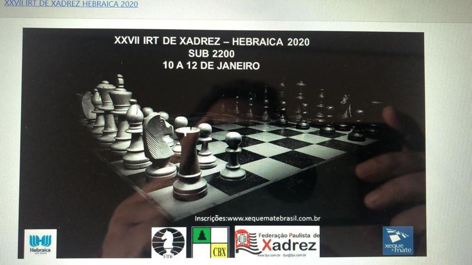 XXVII IRT da Hebraica 2020