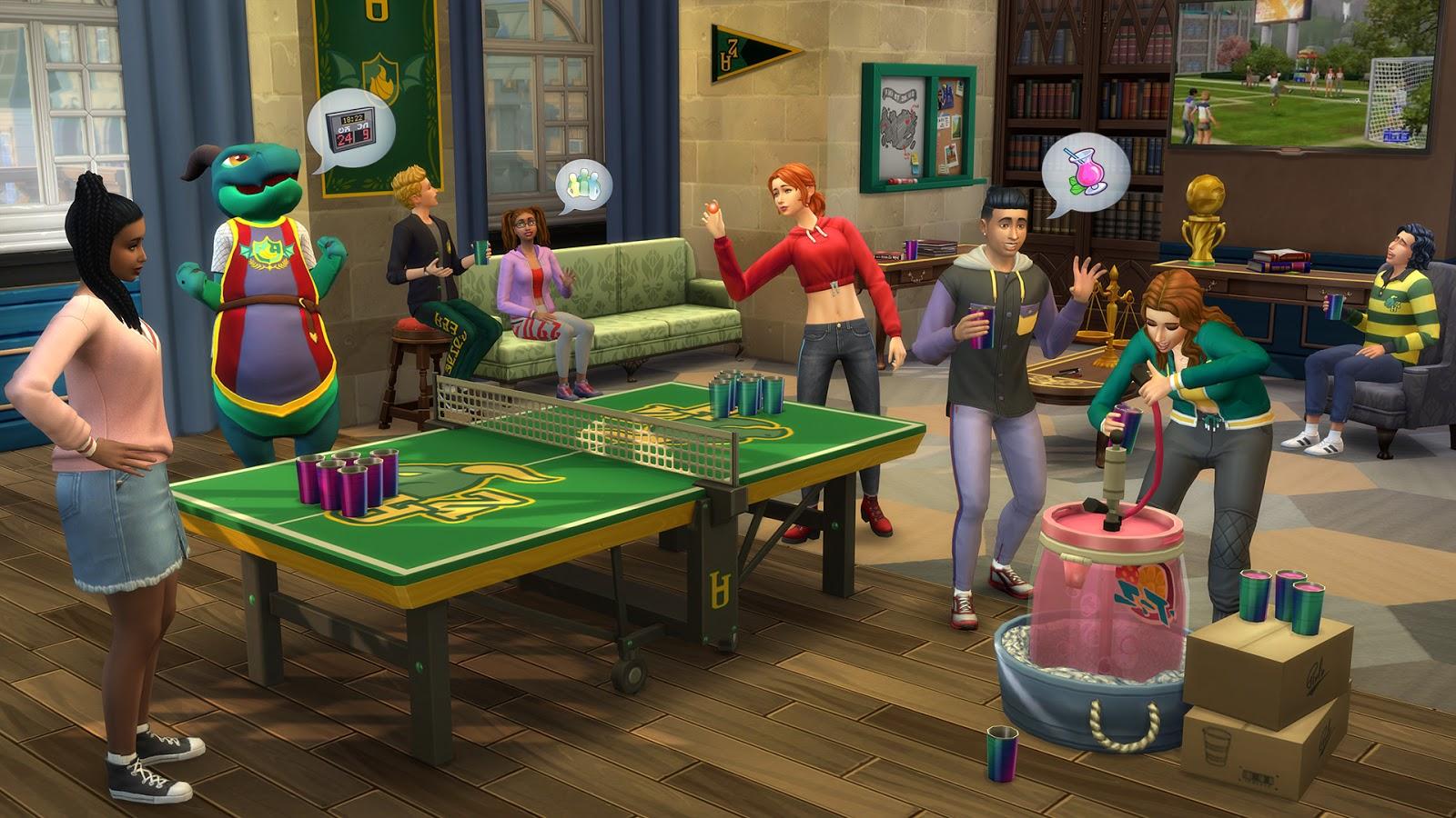 Mods The Sims 4 Vida Universitária