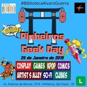 1° Pinheiros Geek day 2020