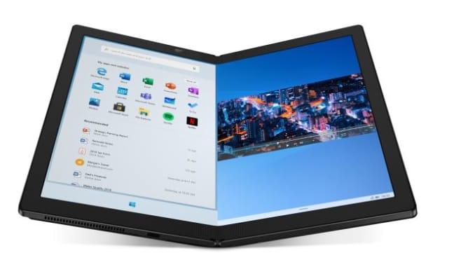 ThinkPad X1 Fold Gadgets em Janeiro 2020