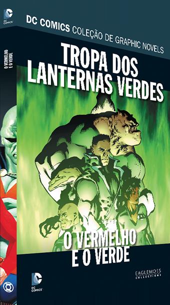 Dc Graphic Novels Ed. 103 - Tropa Dos Lanternas Verdes: O Vermelho E O Verde Lançamento de HQs em janeiro de 2020
