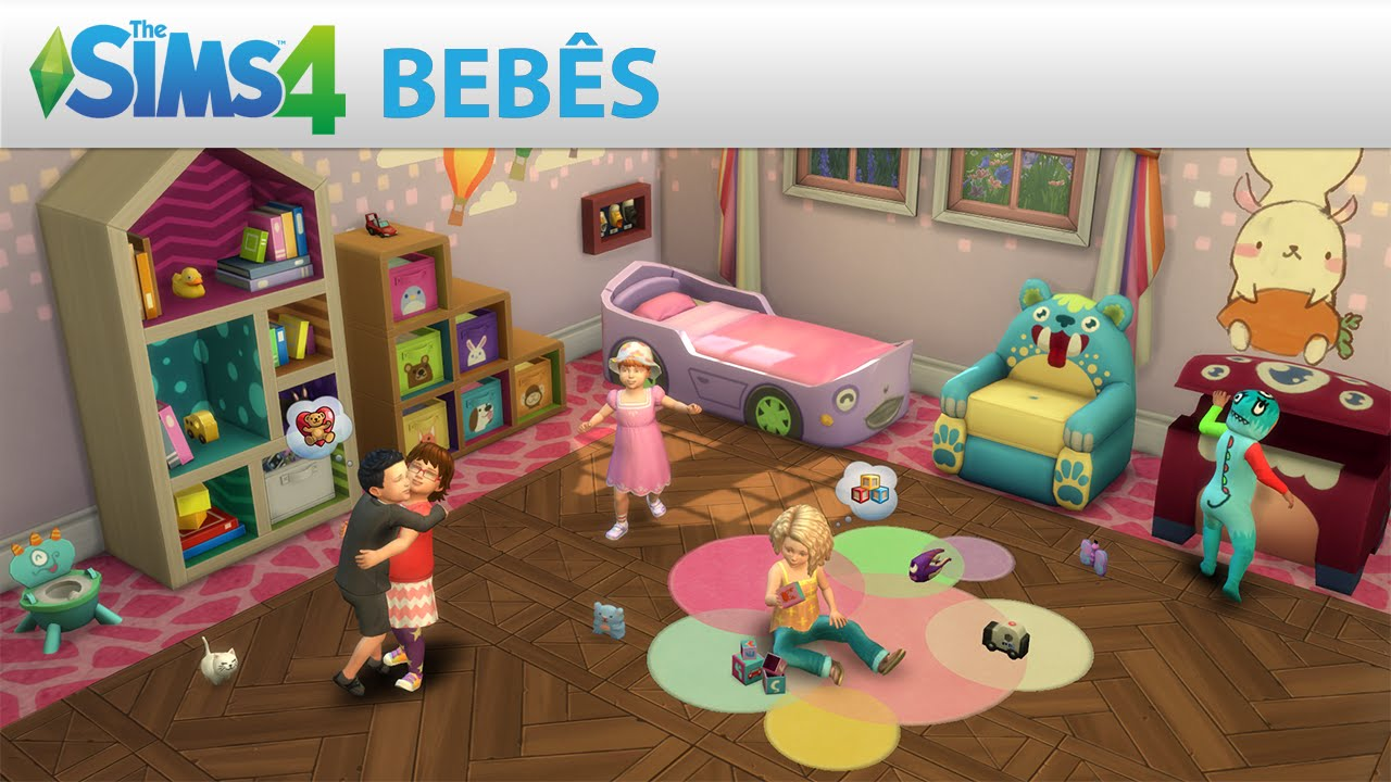 Conteúdo personalizado para bebês no The Sims 4