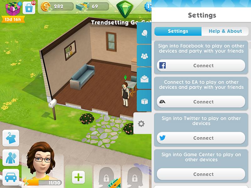 Como visitar um amigo no The Sims Mobile