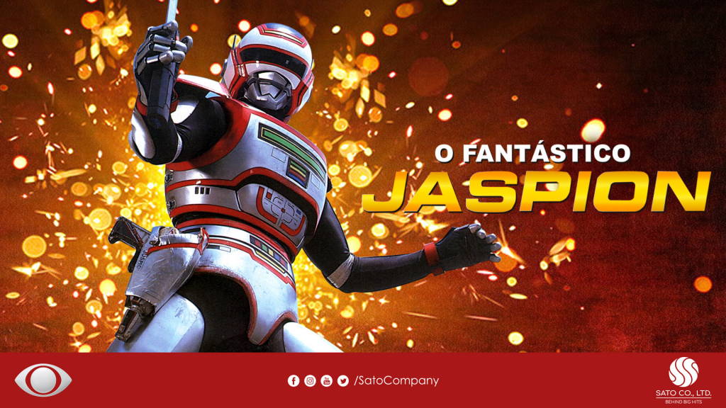 O fantástico Jaspion na band
