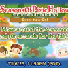 Evento de junho do Tsum Tsum: Seasons of Pixie Hollow