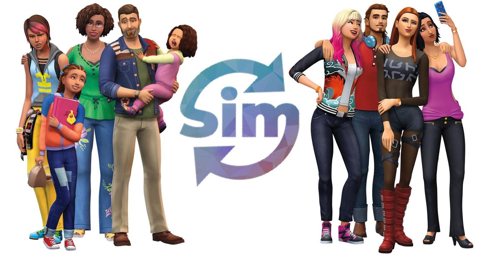 The Sims 4 Online com o mod SimSync