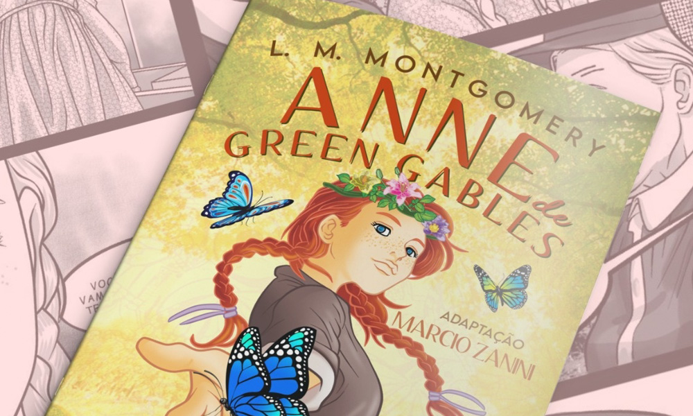 Graphic Novel de Anne With An 'E'