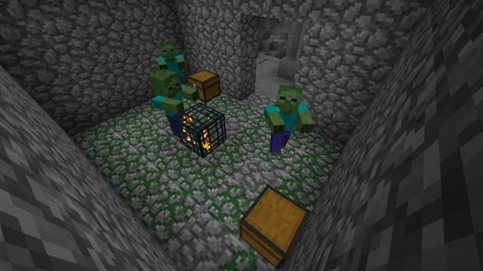 Dungeons e Diamantes Minecraft