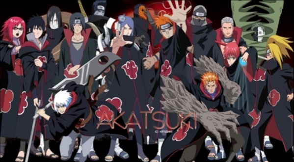 membros da Akatsuki