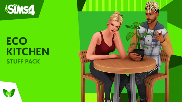The Sims 4 Eco Kitchen