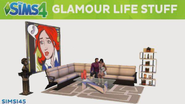 The Sims 4 Glamour Coleção de Objetos grátis